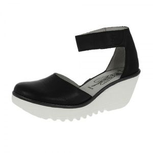 Fly London wedge close toe sandal with strap